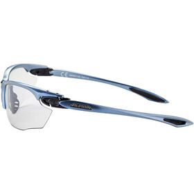Alpina Twist Four VL+ Brille tin-black